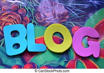 blog, parola