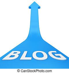 blog, reussite