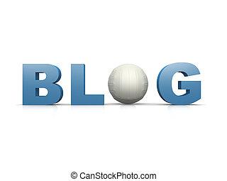 blog, siatkówka
