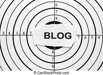 Blog target