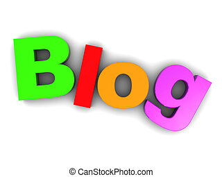 blog, tegn