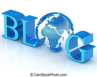 Blog text 3d