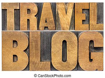 blog, viaggiare, legno, tipo, tipografia