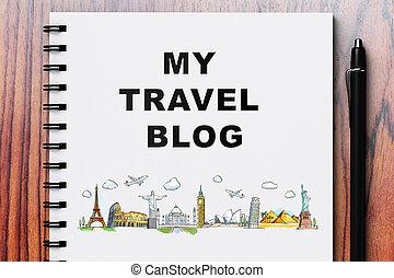 blog, viaggiare, mio