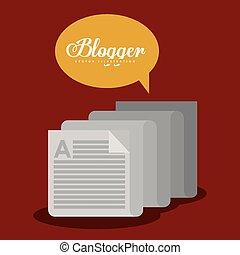 blogger, デザイン
