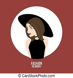 blogger, mode