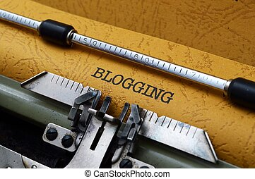 blogging, 概念