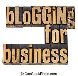 blogging, 為, busines
