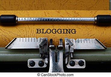 blogging, pojęcie