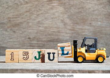 blokken, træ, jul, dato, måned, l, stykke legetøj, 15, ...
