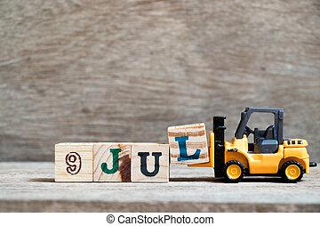blokken, træ, jul, dato, måned, l, stykke legetøj, komplet, ...