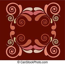 blom formgivning, vektor, -1