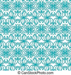 blom- mönstra, seamless, bakgrund