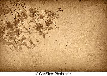blomma, omodern, artistisk