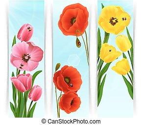 blommig, baner, vertikal