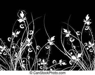 blommig, kaos