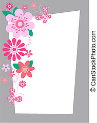 blomst, card