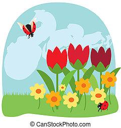 blomster, 2, bugs