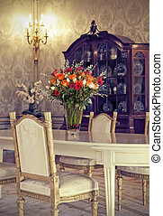 blomster, ind, interior