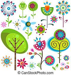 blomster, whimsy