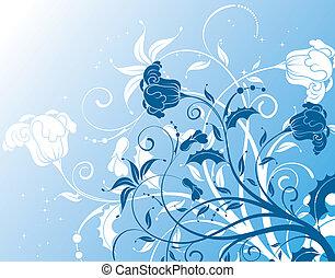 blomstrede, baggrund