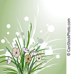 blomstret konstruktion