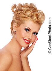 Blond beauty