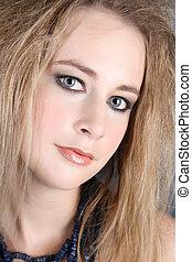Blond female