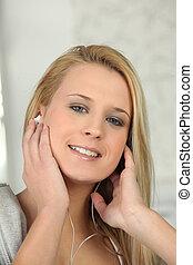 blond, musique écouter
