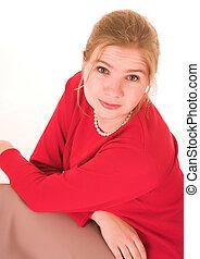 Blonde Businesswoman