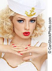 Blonde sailor