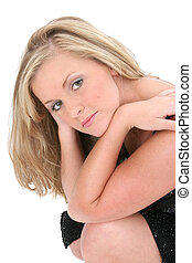 Blonde Woman Teen