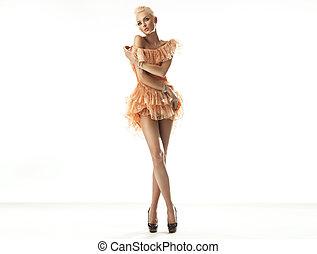 blondynka, piękno