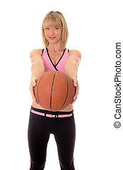 Blong girl basketball