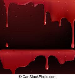 blood., στάξιμο , κόκκινο