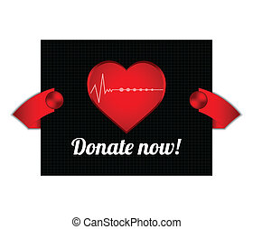 blood donation background with special design