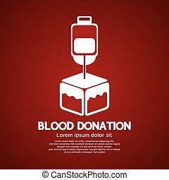 Blood Donation. - Blood Donation Graphic Vector...