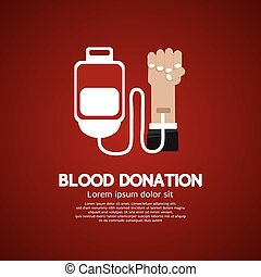 Blood Donation. - Blood Donation Illustration.