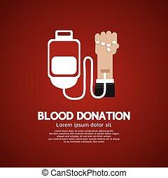 Blood Donation. - Blood Donation Illustration.
