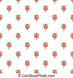 Blood donation pattern, cartoon style