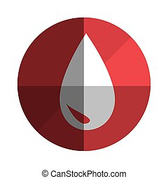 blood drop donation icon