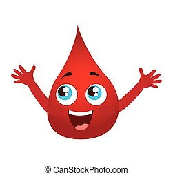blood drop isolated icon