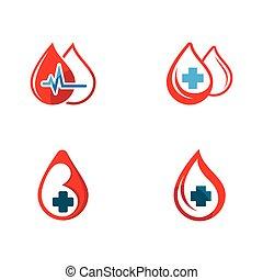 Blood drop vector icon