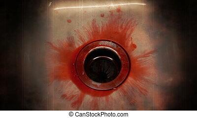 Blood in sink enhanced creepy 1080P