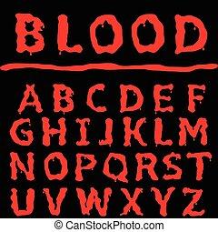 Blood letter set