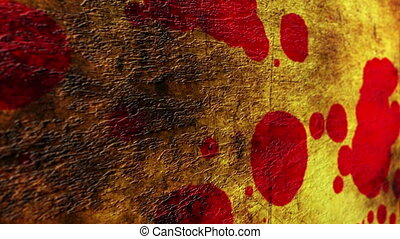 Blood on grunge background