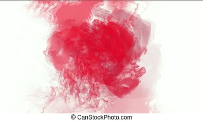 blood & plasma, splash red fluid