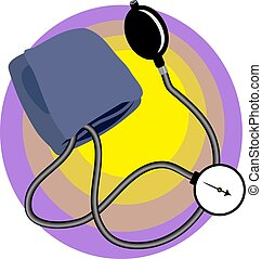 Doctors blood pressure device
