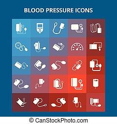Blood Pressure Icons