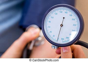 Blood pressure measurement